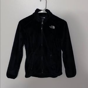 The North Face Fluffy Zip Up Jacket